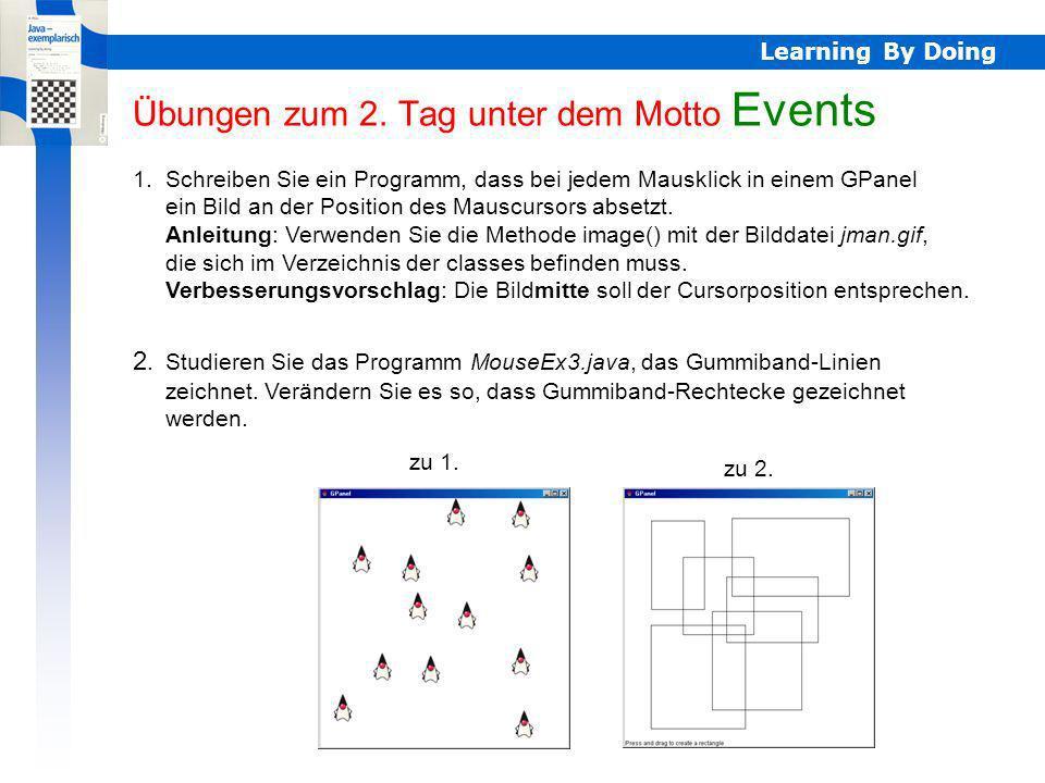Learning By Doing Übungen zum 2.