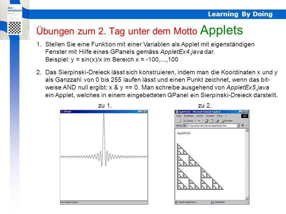 Learning By Doing Übungen zum 2.