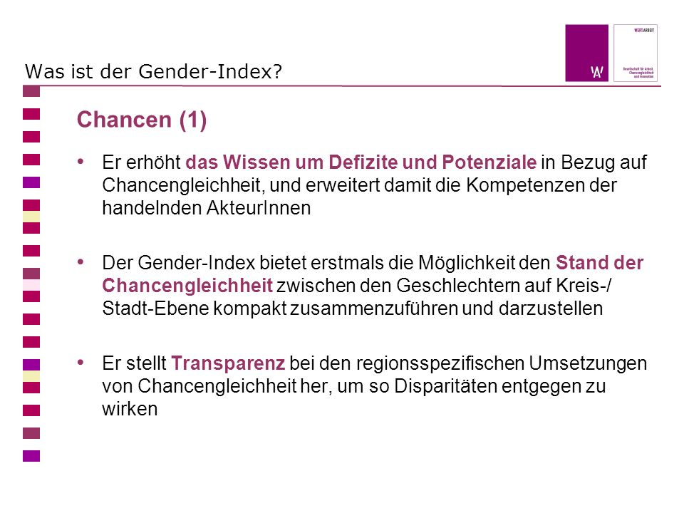 Was ist der Gender-Index.
