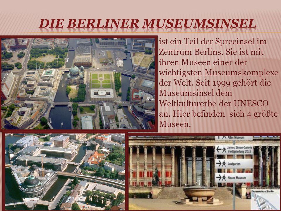 ist ein Teil der Spreeinsel im Zentrum Berlins.