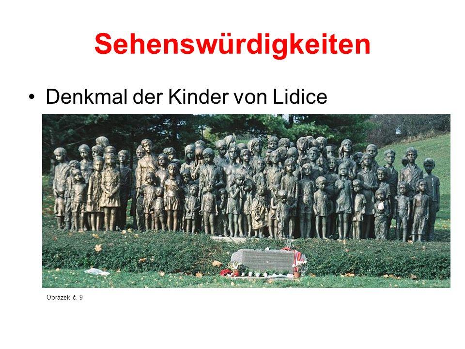 Sehenswürdigkeiten Denkmal der Kinder von Lidice Obrázek č. 9