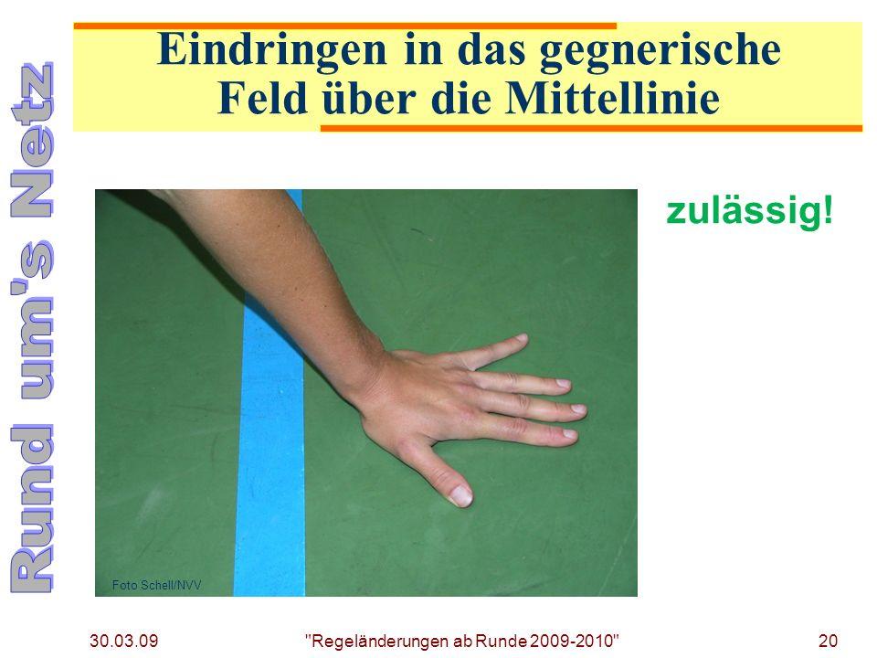 30.03.09 Regeländerungen ab Runde 2009-2010 20 zulässig.
