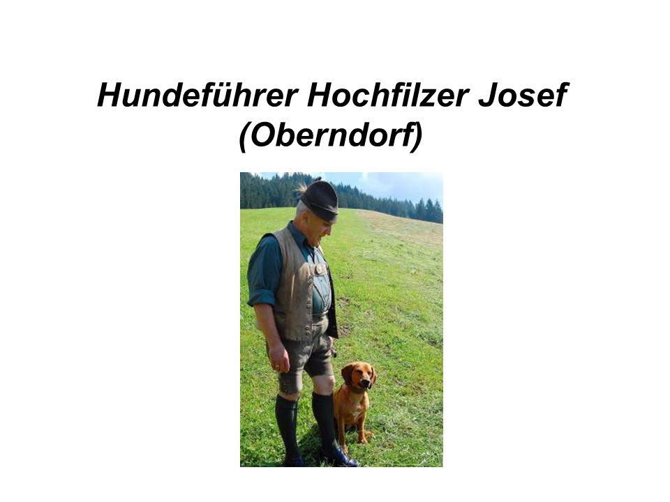 Hundeführer Hochfilzer Josef (Oberndorf)