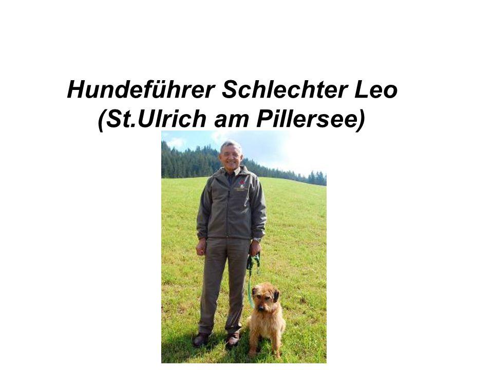 Hundeführer Schlechter Leo (St.Ulrich am Pillersee)