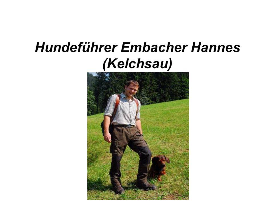 Hundeführer Embacher Hannes (Kelchsau)