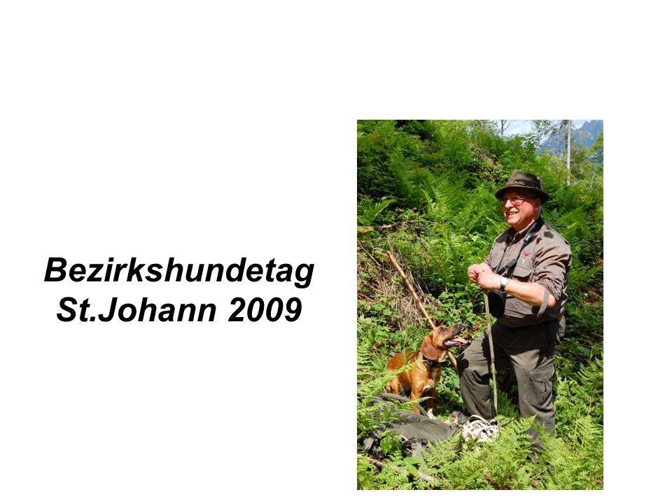 Bezirkshundetag St.Johann 2009