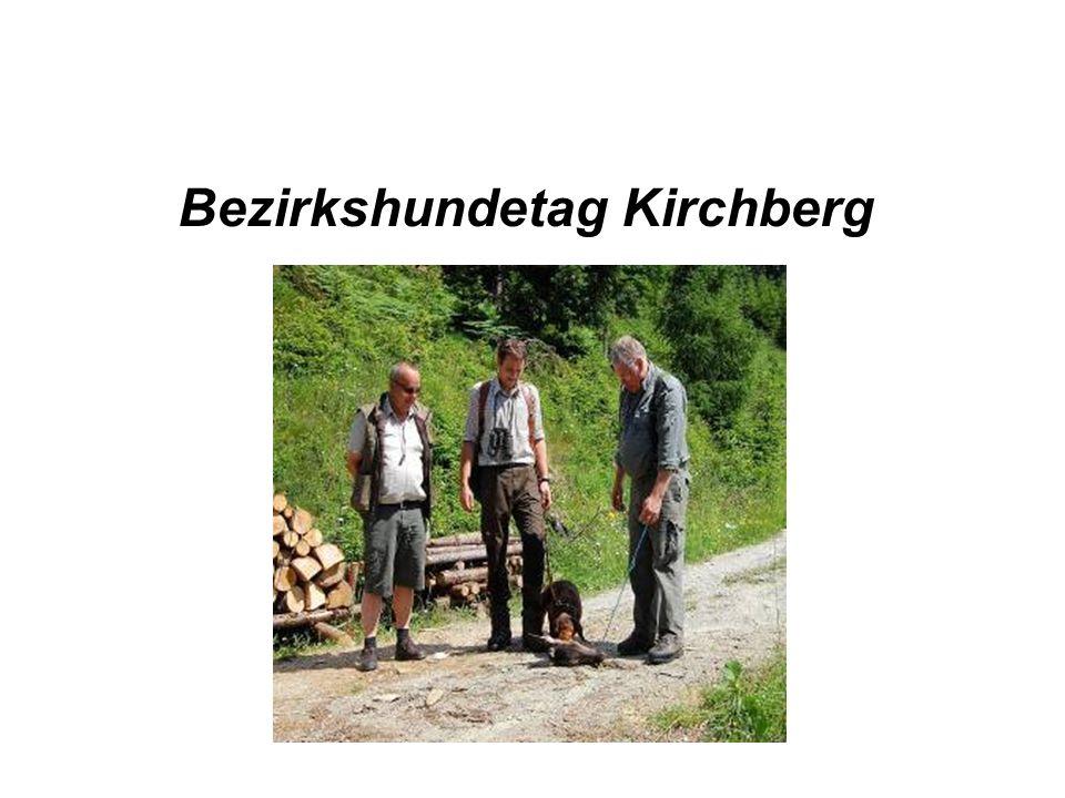 Bezirkshundetag Kirchberg