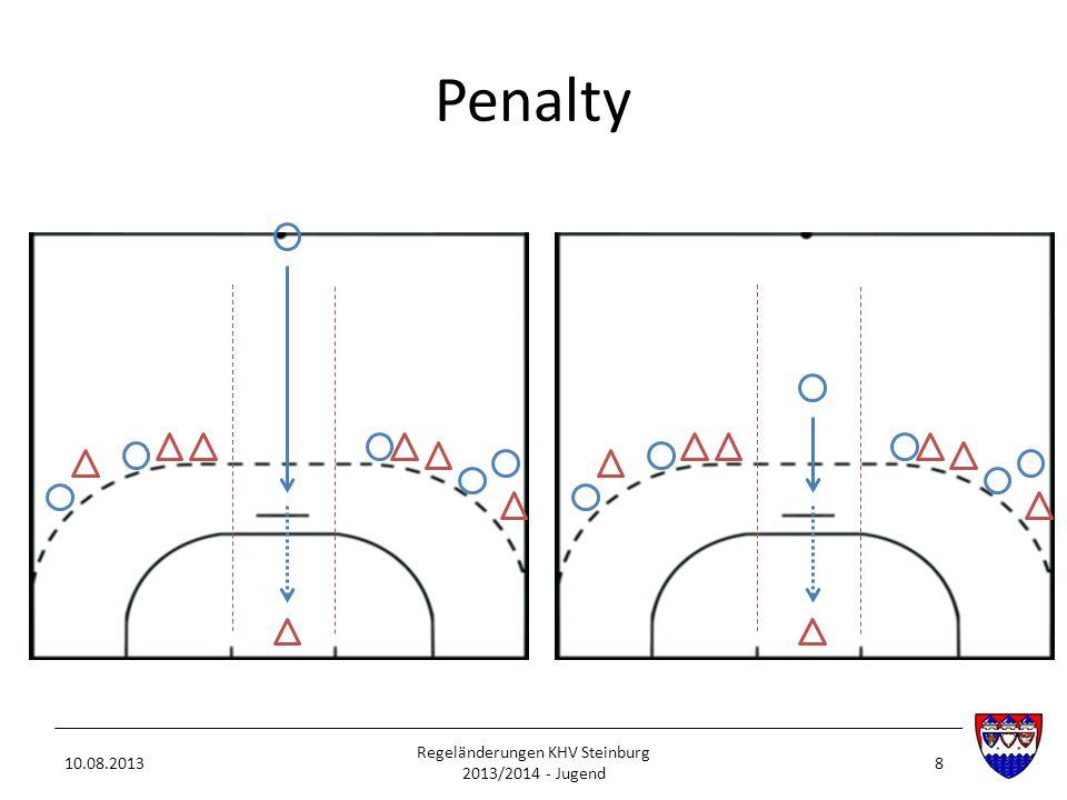 Penalty 10.08.2013 Regeländerungen KHV Steinburg 2013/2014 - Jugend 8