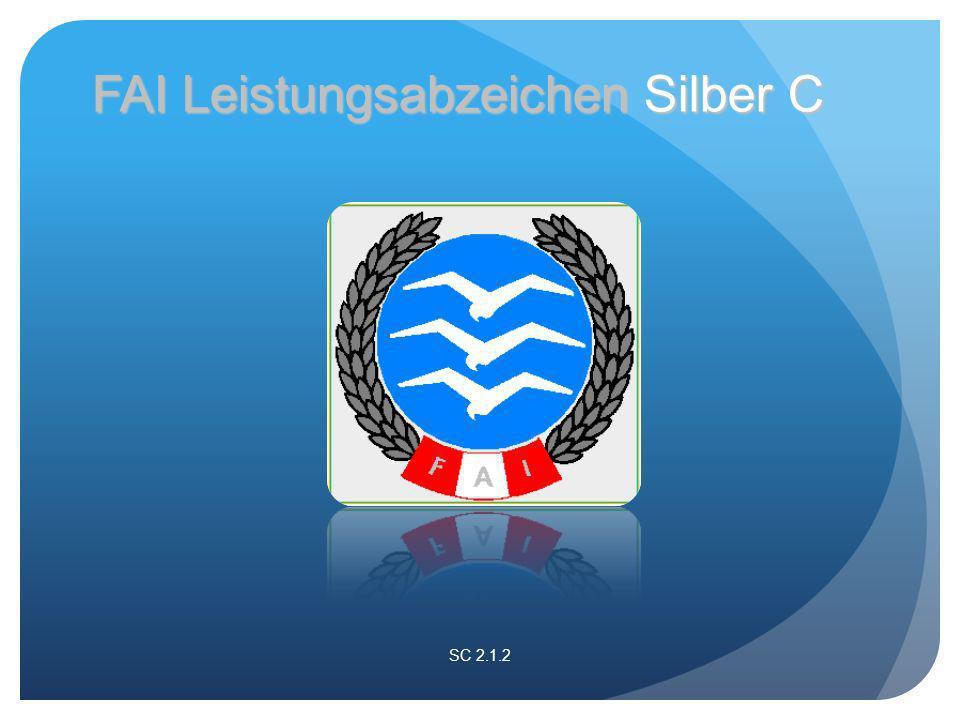 SC 2.1.2 FAI Leistungsabzeichen Silber C