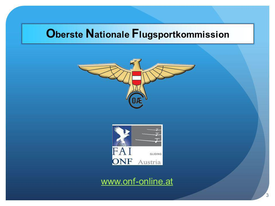 O berste N ationale F lugsportkommission www.onf-online.at 3
