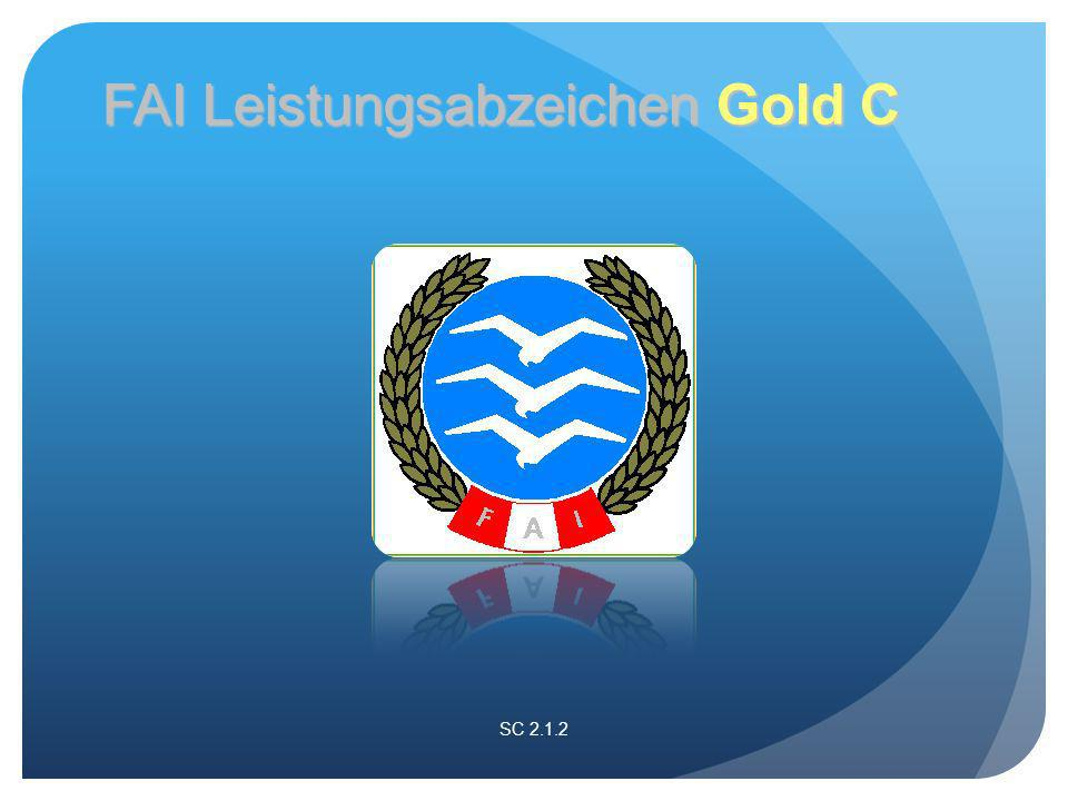 SC 2.1.2 FAI Leistungsabzeichen Gold C