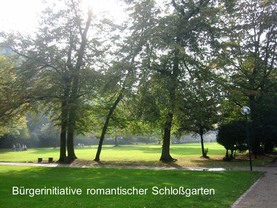 Bürgerinitiative romantischer Schloßgarten