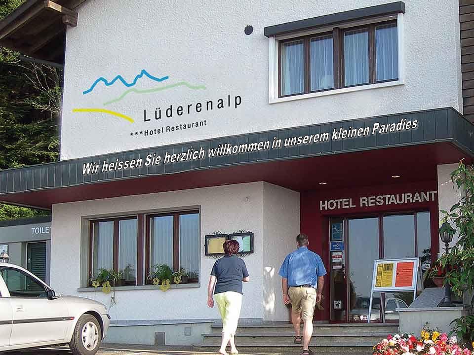 Bienvenue dans notre petit paradis sur la Lüderenalp