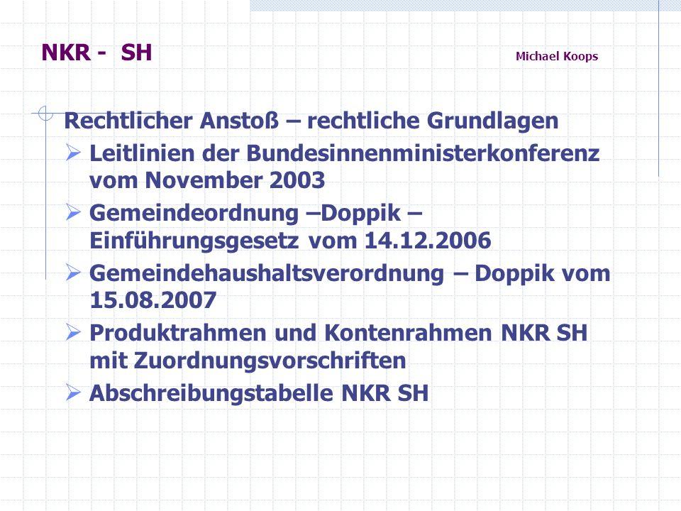 NKR – SH Michael Koops Finanzwirtschaftliche Situation der Kommunen in Schleswig –Holstein Steiler Anstieg der defizitären Jahresabschlüsse in 2011 über 900 Mio.