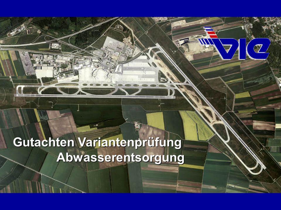 AbwasserentsorgungArbeitsgemeinschaft Abgrenzung des Untersuchungsraumes Verbandskläranlage Schwechat Kläranlage VIE Verbandskläranlage Schwechat Kläranlage VIE Gewässerpegel Donau (WSD) Gewässerpegel Fischa (MA 31) Qualitätsmessstelle Fischa (WGEV)) Qualitätsmessstelle Schwechat (WGEV)) Gewässerpegel Schwechat (NÖLReg) Verbandskläranlage Schwechat Kläranlage VIE