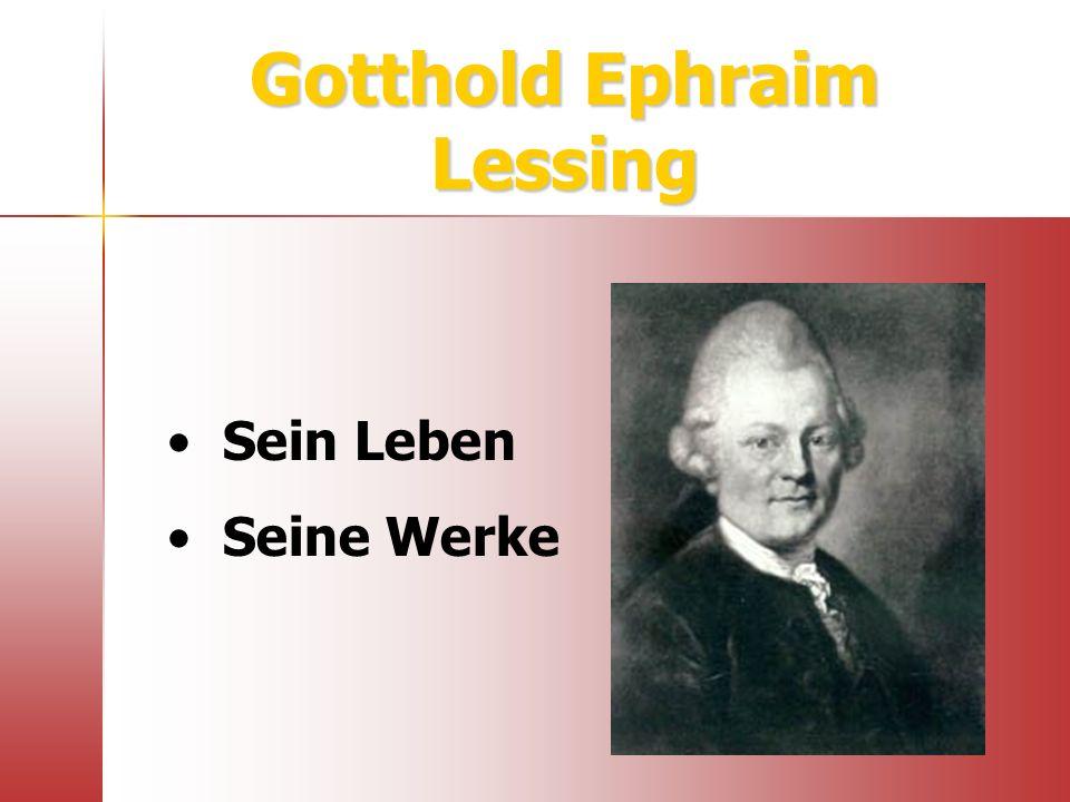 Webtipps / Hotpotatoes http://www.goethe.de/os/hon/aut/deles.htm http://oregonstate.edu/instruct/ger341/lessing.htm http://www.lindenhahn.de/veroefft/galotti.htm http://www.new-teaching.de/Lessing_Galotti.cfm Lückentext Kontrollfragen1 Kontrollfragen2 Lückentext Kontrollfragen1 Kontrollfragen2