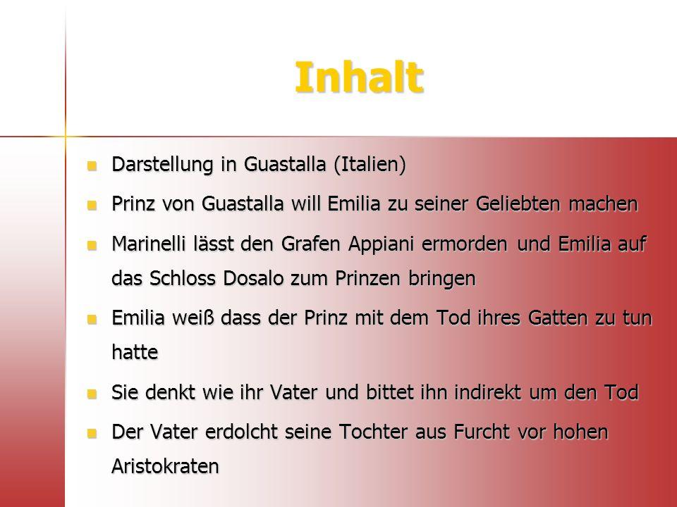 Aufbau / Struktur Trauerspiel in 5 Akten 1.1.
