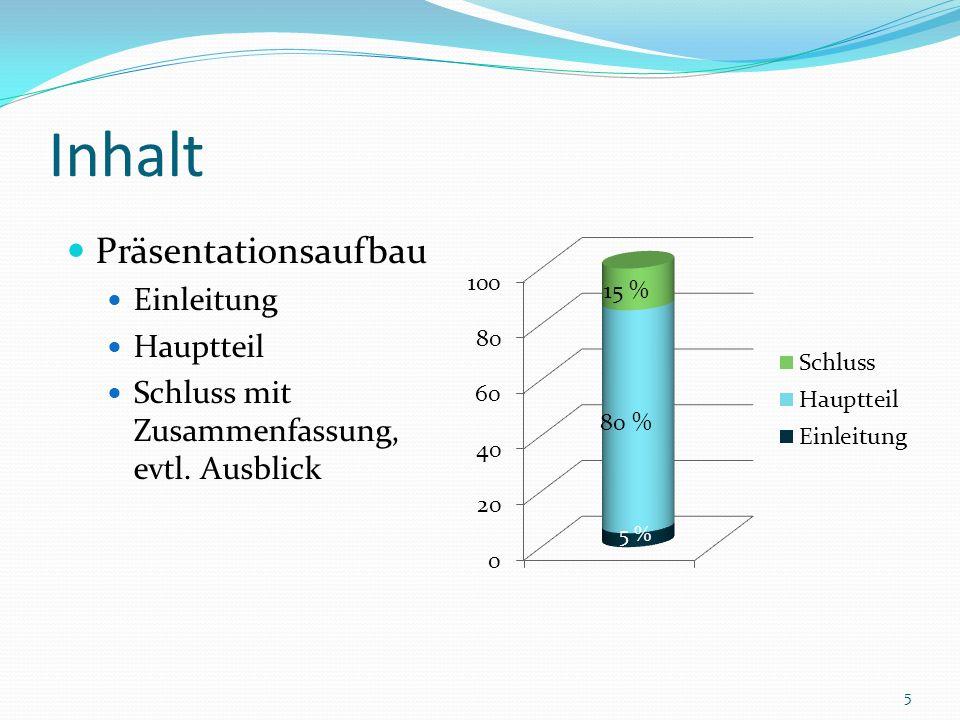 Aufbauhilfen 6 Keep K it I short and S simple. S Attention A Interest I Desire D Action A