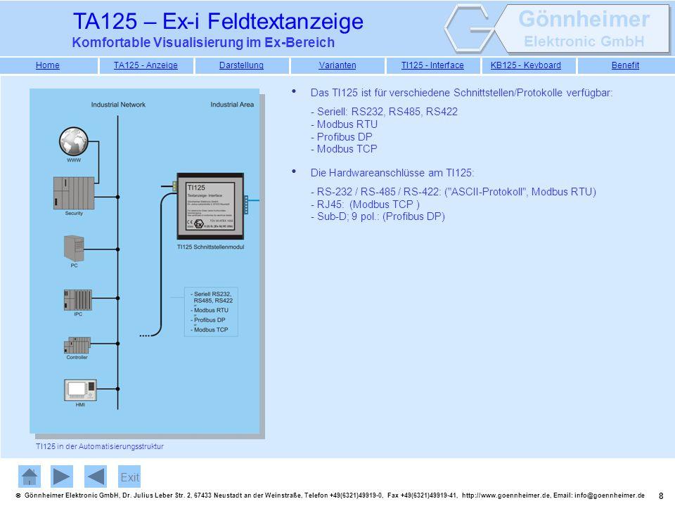 9 Gönnheimer Elektronic GmbH, Dr.Julius Leber Str.