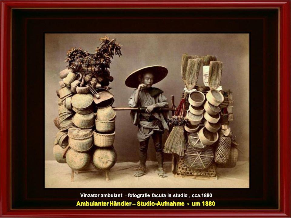 Confectionarea lampadarelor – cca.1890 Leuchten-Herstellung – um 1880