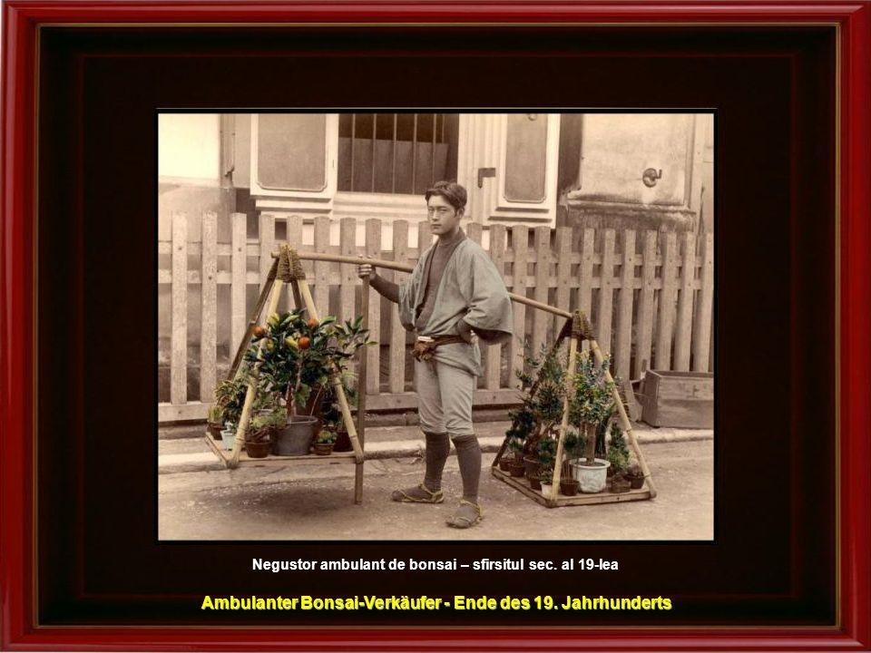 Ikebana – cca.1890 Ikebana – Blumensteckkunst - um 1890