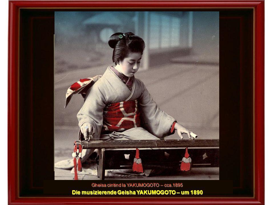 Vinzator ambulant de bomboane si mica sa clienta - 1897 Ambulanter Süßigkeiten-Verkäufer und seine kleine Kundin - 1897