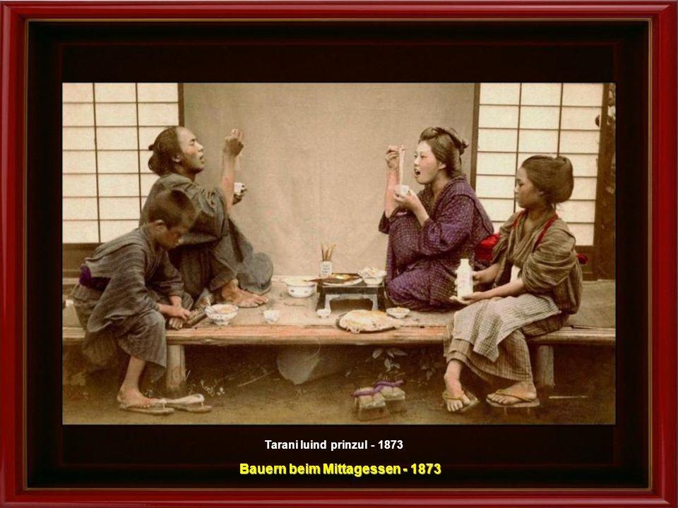 Vinzator ambulant de zarzavaturi – fotografie facuta in studio, cca.1890 - 1990 Ambulanter Gemüsehändler - Foto im Studio gemacht – um 1890 - 1990