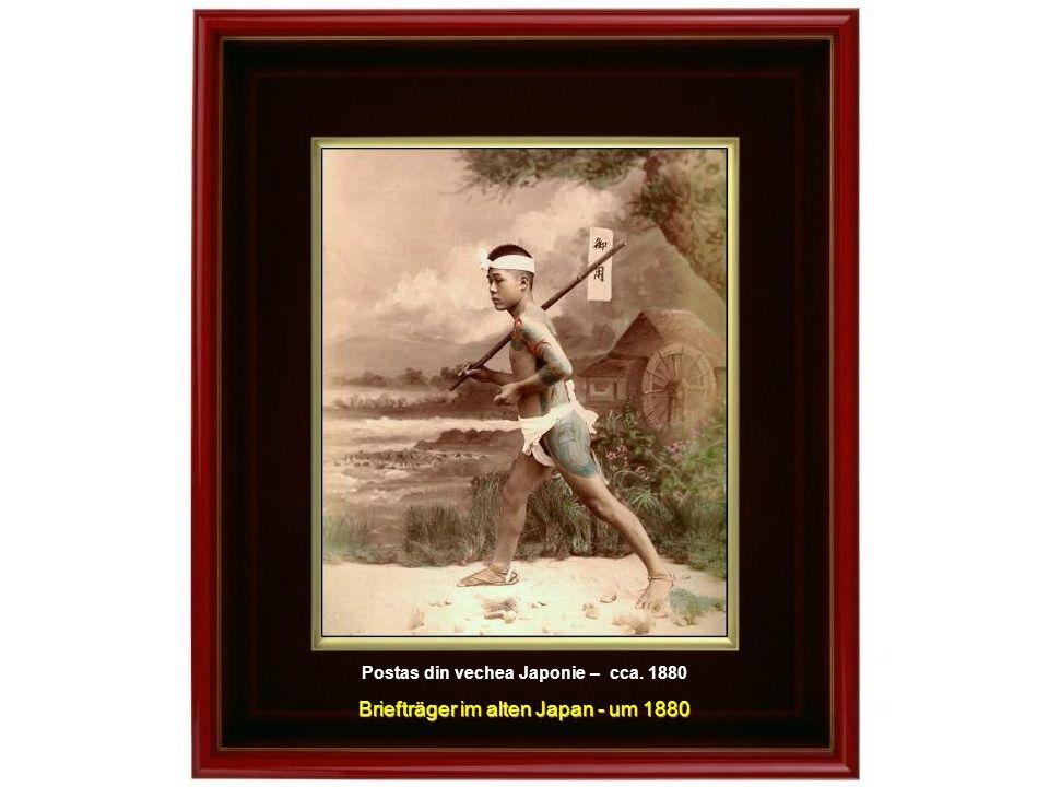 Femeie cintind la KOTO - cca.1895 Die musizierende Geisha YAKUMOGOTO – um 1890 Gheisa cintind la YAKUMOGOTO – cca.1895