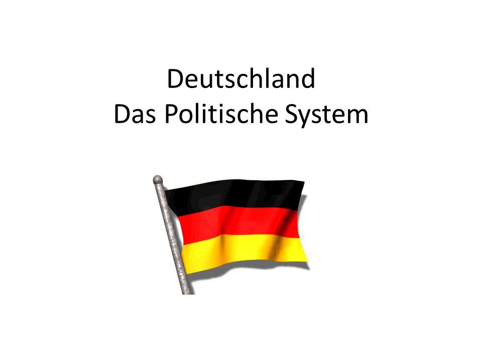 Das Staatsoberhaupt: Der Bundespräsident Christian Wulff: -Politisch nicht wichtig -Repräsentative Aufgaben -Gewählt für 5 Jahre (max.