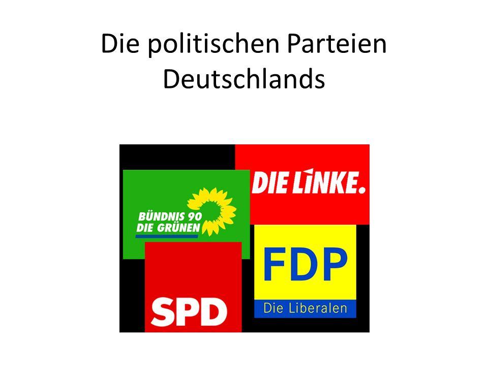Die politischen Parteien Deutschlands