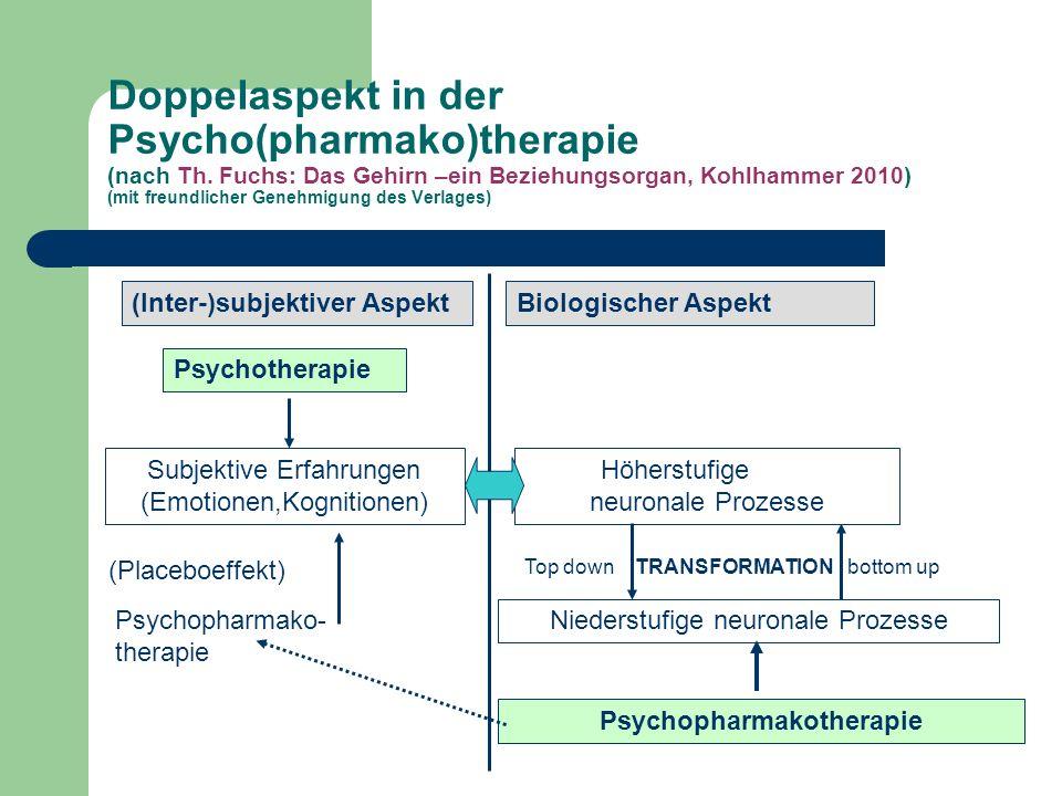 Doppelaspekt in der Psycho(pharmako)therapie (nach Th.