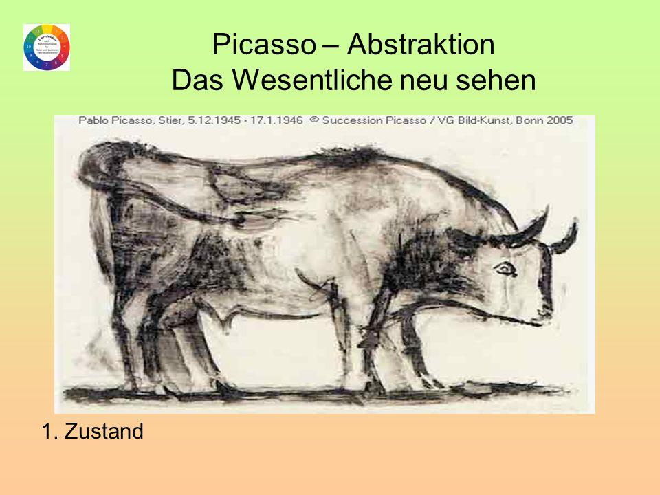 Picasso – Abstraktion Das Wesentliche neu sehen 1. Zustand