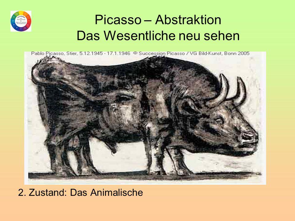 Picasso – Abstraktion Das Wesentliche neu sehen 2. Zustand: Das Animalische