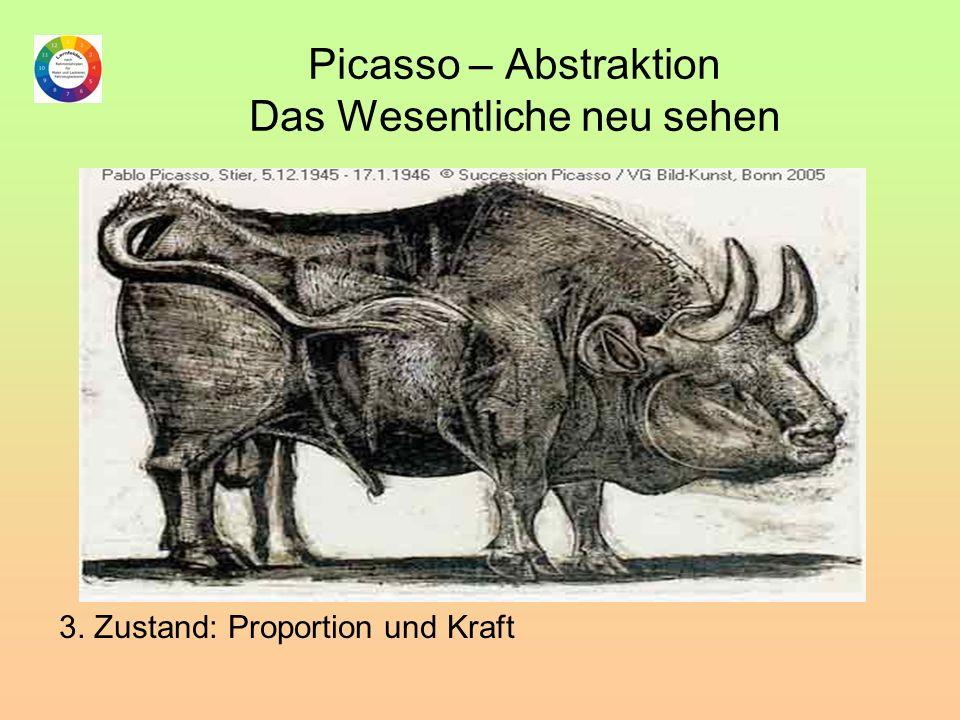 Picasso – Abstraktion Das Wesentliche neu sehen 3. Zustand: Proportion und Kraft