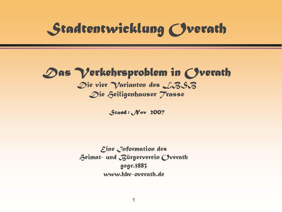 12 Ablehnung …und dann.Heimat- und Bürgerverein Overath gegr.