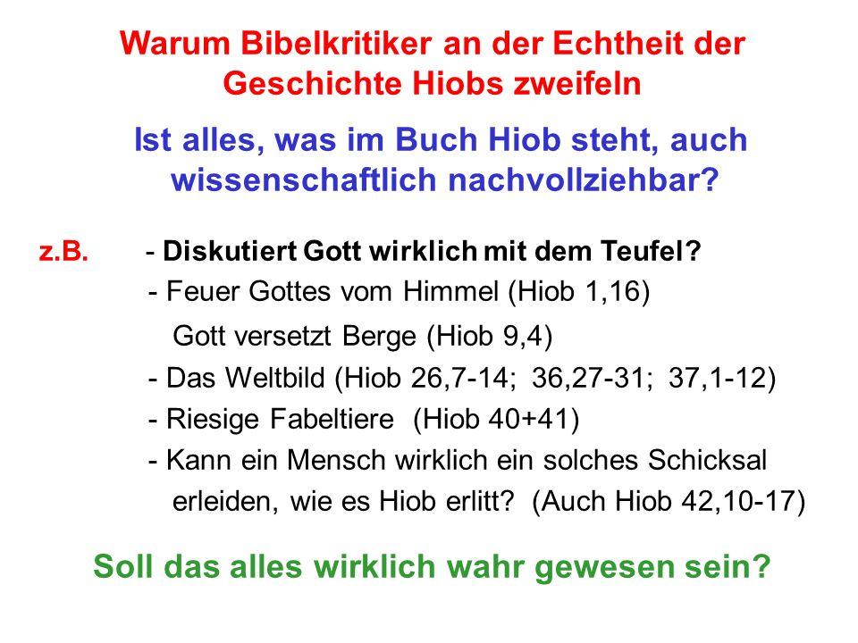 Seite 18 PP_M54.ppt Hiob – Folien Teil 2www.hopeandmore.at Üblicher Weise ist all das, was über Hiob kam, in der Bibel als ein Gericht über gottlose und unbußfertige Menschen beschrieben.