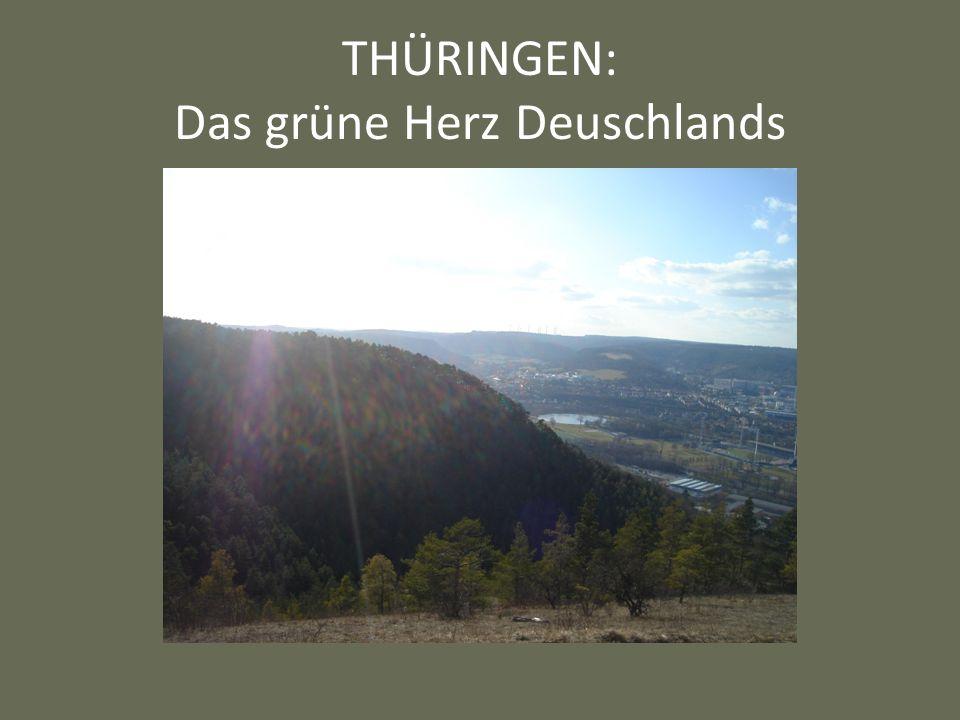 THÜRINGEN: Das grüne Herz Deuschlands