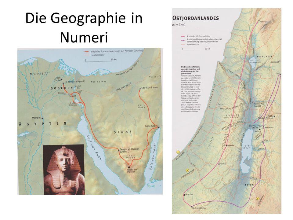 Die Geographie in Numeri