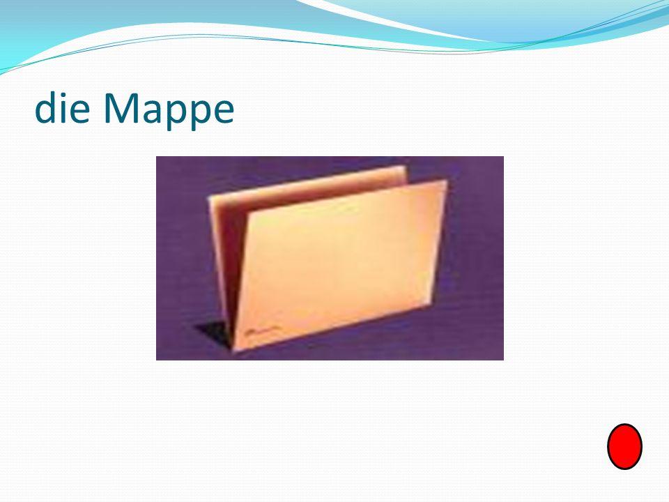 die Mappe
