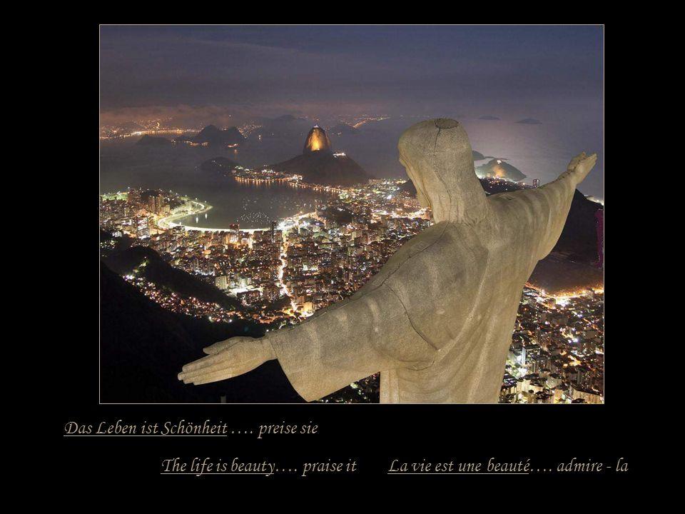 Das Leben ist ein Versprechen …. halte es The life is a promise…. hold it La vie est une promesse…. tiens - la