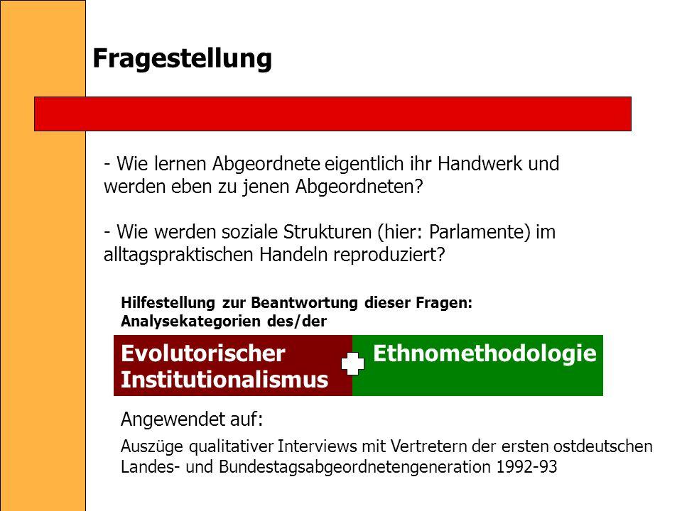 Was ist Ethnomethodologie.