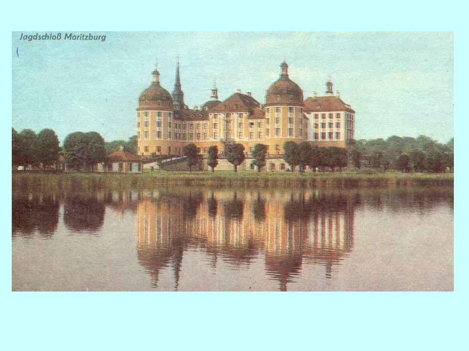 Mitte des 16. Jahrhunderts ließ der sächsische Kurfürst Moritz beim Dorf Eysenberg (in der Nähe von Dreden) ein Jagdhaus bauen. Nach ihm wurde es Mori