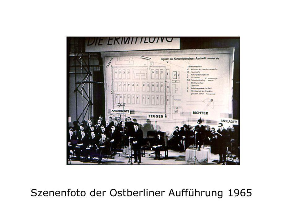 Szenenfoto der Ostberliner Aufführung 1965
