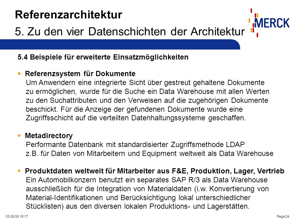 03.09.08 18:17Page 24 Referenzarchitektur 5.