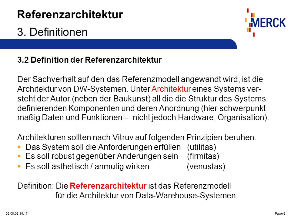 03.09.08 18:17Page 6 Referenzarchitektur 3.