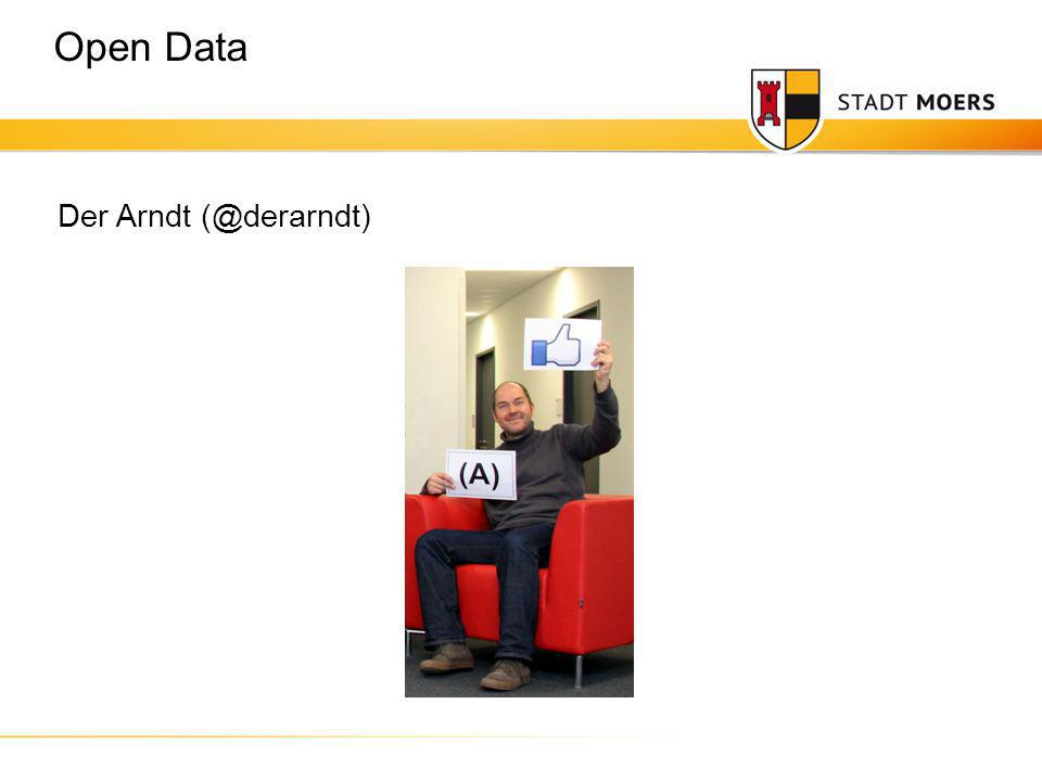 Der Arndt (@derarndt) Open Data
