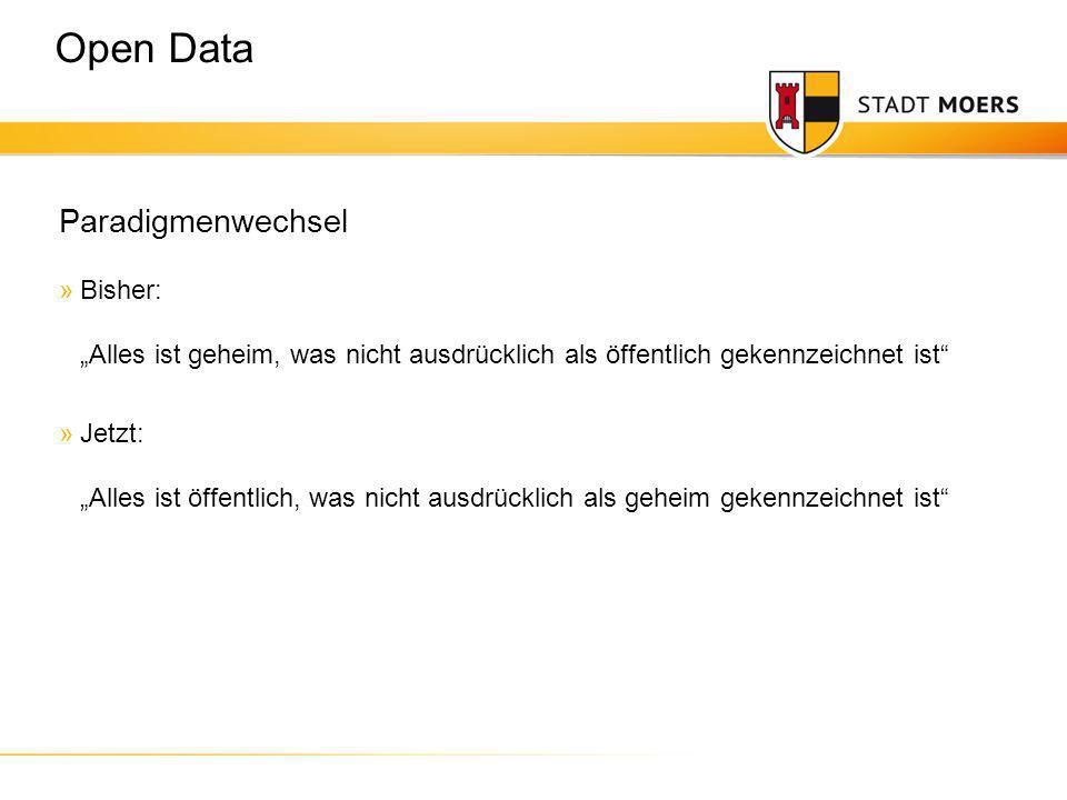 Claus Arndt | Fachdienstleiter Zentrale Dienste Idee »Behördliche Daten sollen öffentlich frei verfügbar und nutzbar gemacht werden.