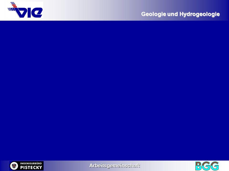 Geologie und Hydrogeologie Arbeitsgemeinschaft