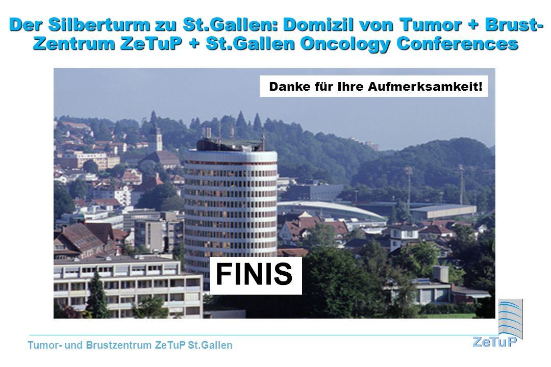 Tumor- und Brustzentrum ZeTuP St.Gallen Der Silberturm zu St.Gallen: Domizil von Tumor + Brust- Zentrum ZeTuP + St.Gallen Oncology Conferences Danke f