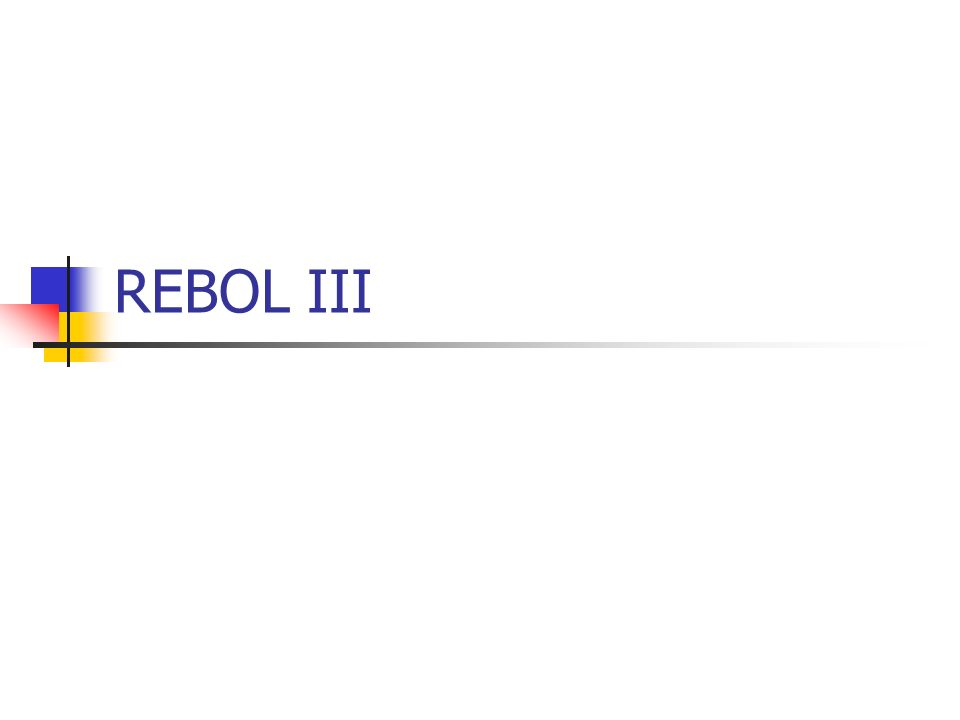 REBOL III